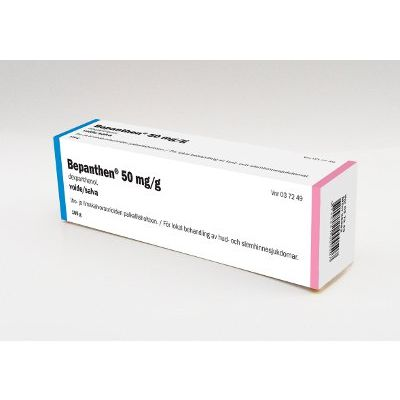 BEPANTHEN 50 mg/g voide 100 g