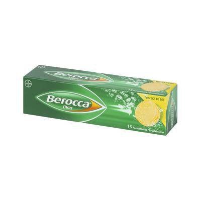BEROCCA CITRUS poretabl 15 kpl