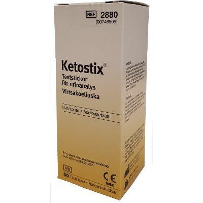 Ketostix reagenssiliuska ketoaineille 50 kpl