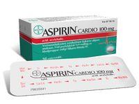 ASPIRIN CARDIO 100 mg enterotabl 98 fol