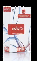 Family natural/regular kondomi   12 kpl