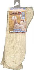 Alpakka unisukka luonnonvärinen 43-45 1 pari