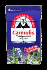 Carmolis Sokeriton Yrttipastilli 45 g