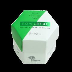 Luonkos POWERFUL jauhedeodorantti tuoksuton 50 g