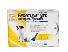 FRONTLINE VET 100 mg/ml paikallisvaleluliuos 4x0,67 ml