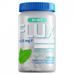 Flux Mint fluoritabletti 250 mcg 100 imeskelytabl